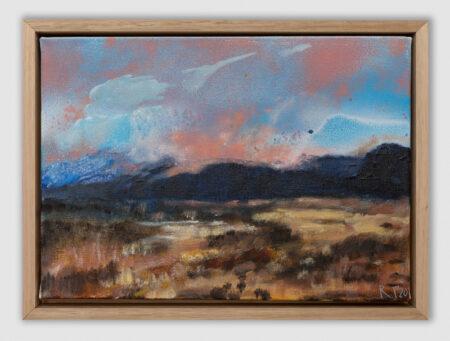 through my window, landscape, landscape painting sky, colour